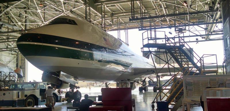 747 Supertanker at C check