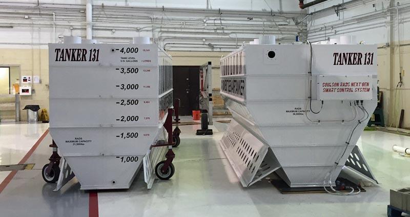 air tanker 131 retardant tank
