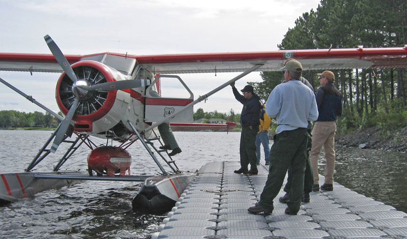 Havilland Beaver Voyageurs National Park