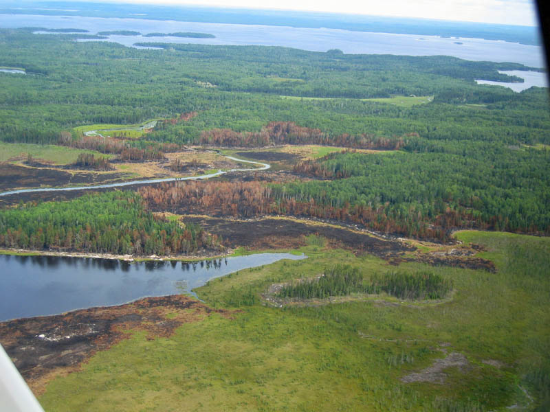 Section 33 Fire in Voyageurs National Park