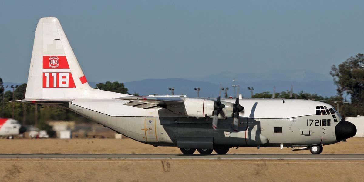 T-110 HC-130H air tanker