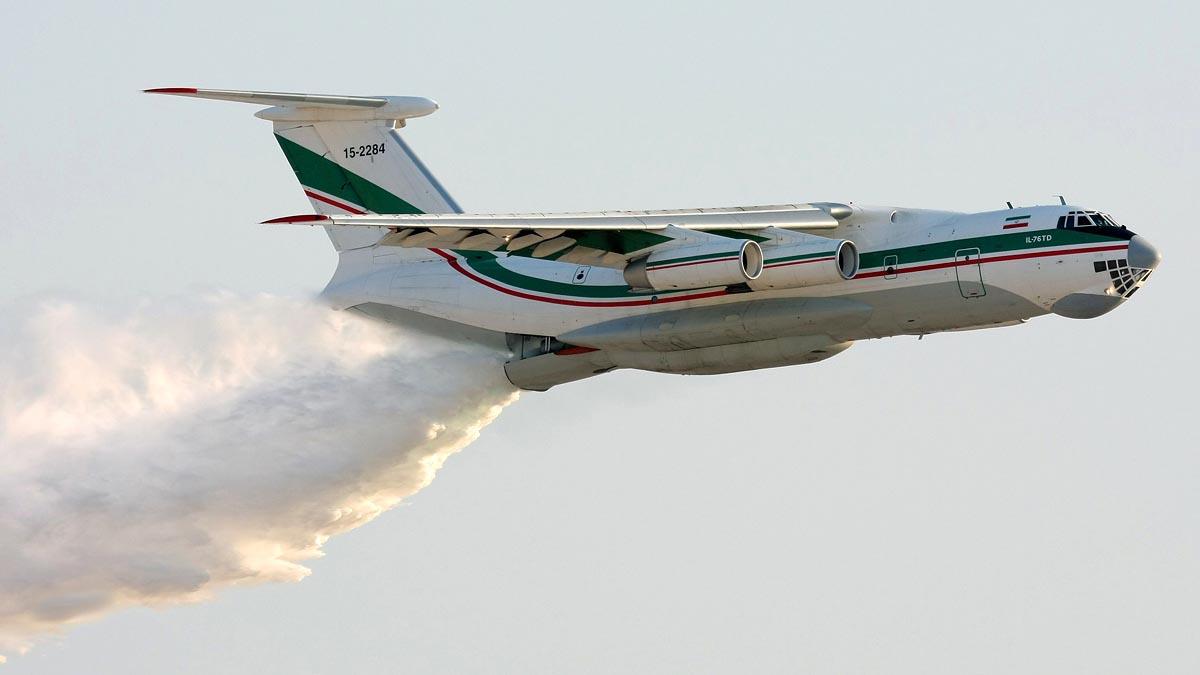 Russian air tanker missing in Siberia