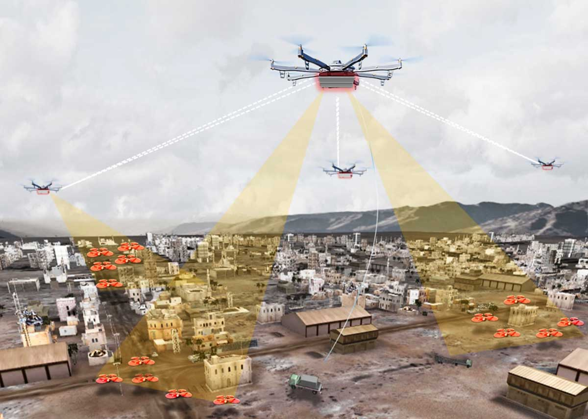 DARPA wants to develop a drone dragnet