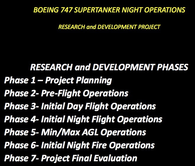 R&D proposal for night drops
