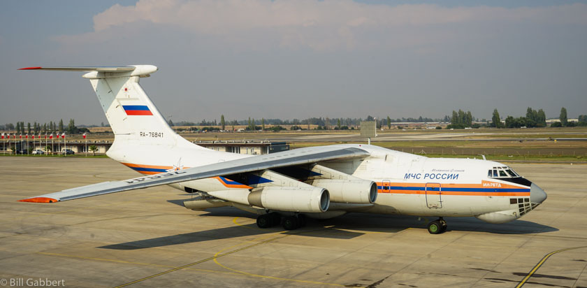 Russian IL-76 completes its assignment in Chile