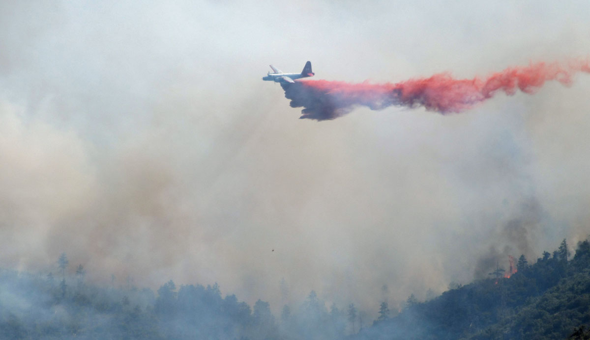 Operator of illegal drone at Pinal Fire cited