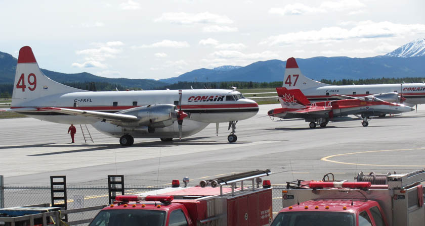 Interesting assortment of emergency equipment at Whitehorse