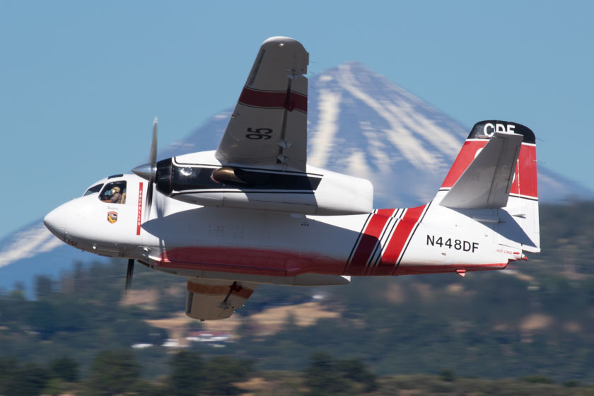 Photos of CAL FIRE S-2's at Medford