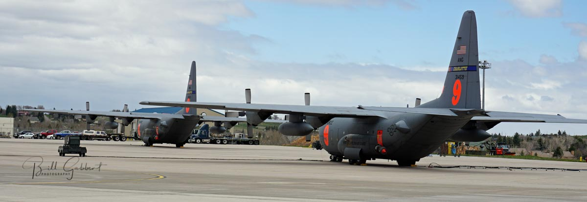 A third MAFFS C-130 air tanker activated