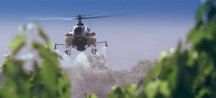 Yamaha brings their crop dusting helicopter drone to the
