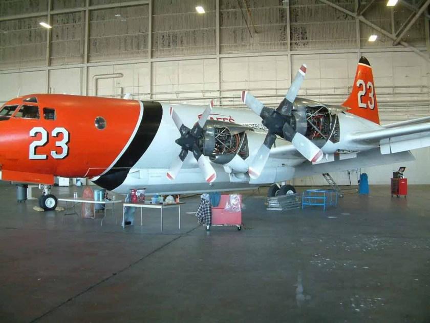P3 Orion air tanker