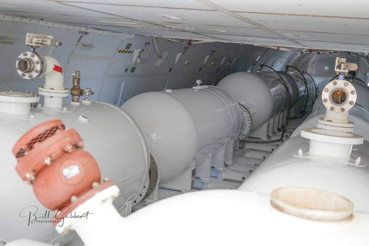 A tour through the 747's retardant delivery system