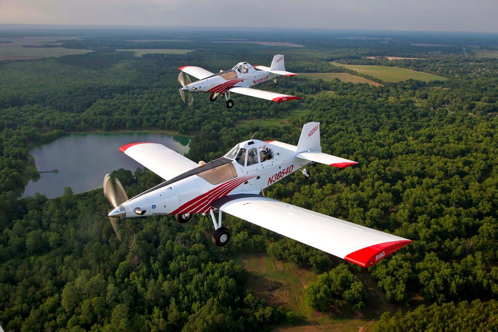 Georgia buys two single engine air tankers