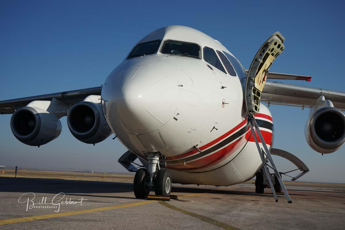 air Tanker 163 an RJ85