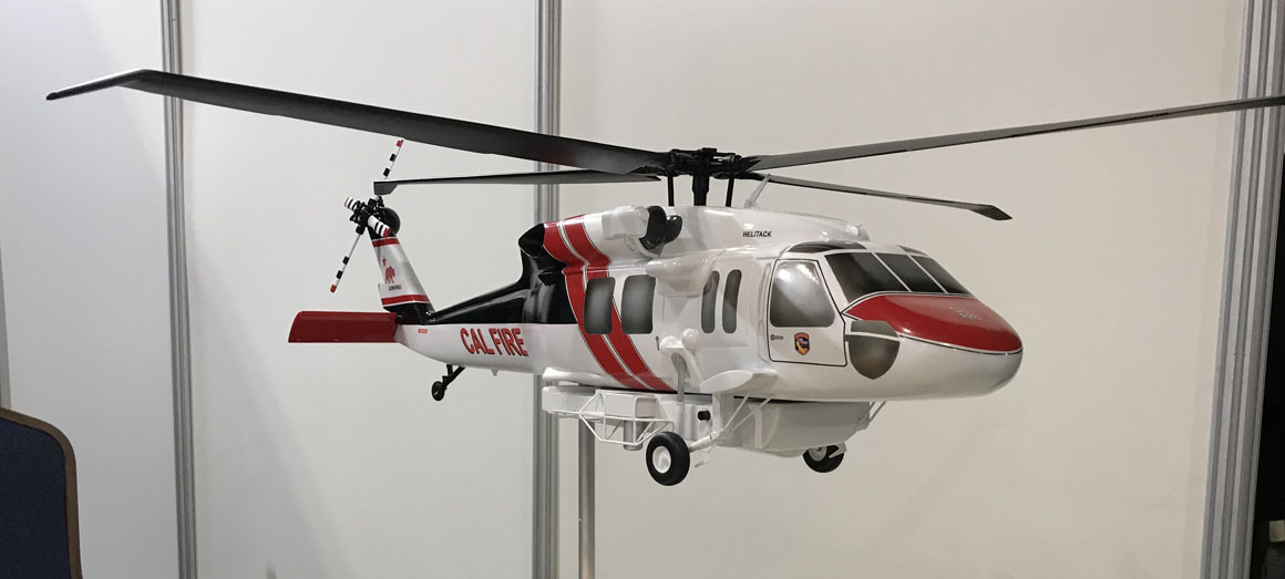 Ken Pimlott discusses the acquisition of a new fleet of helicopters