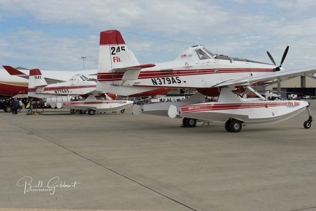 aerial firefighting aircraft sacramento