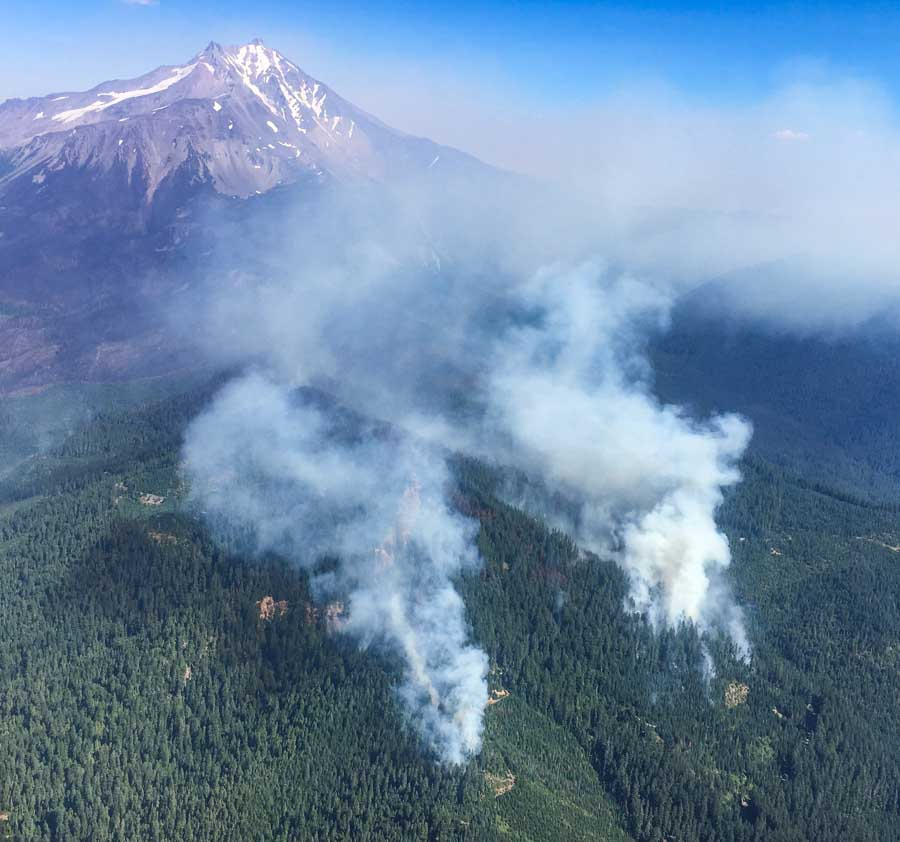 Oregon has 27 exclusive use aircraft on firefighting contracts this year