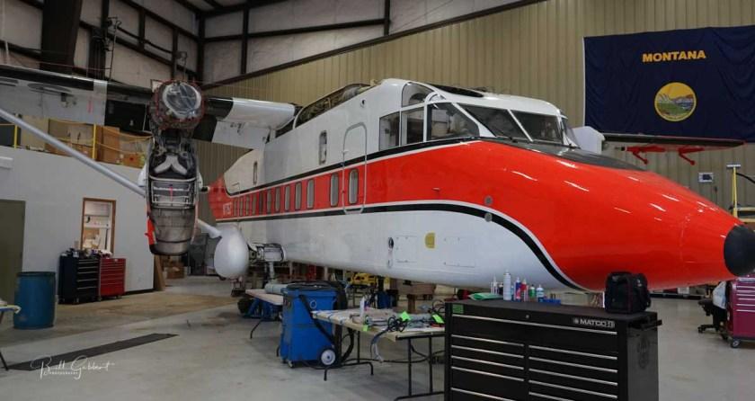 Sherpa Neptune Aviation air tanker wildfire