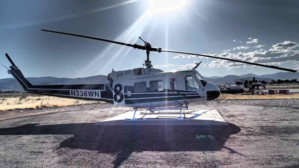 Washington DNR prepares helicopter fleet for wildfire season
