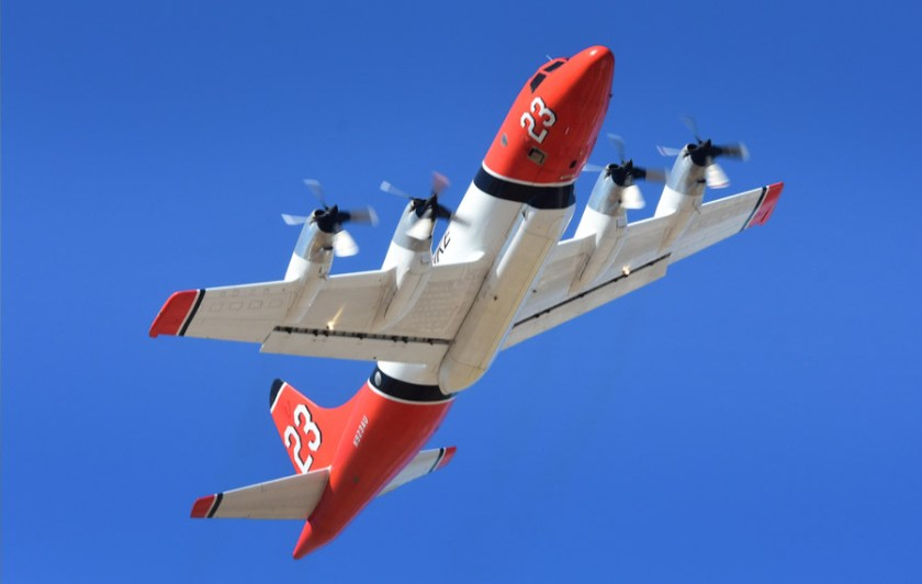 P-3 Orion air tanker T-23