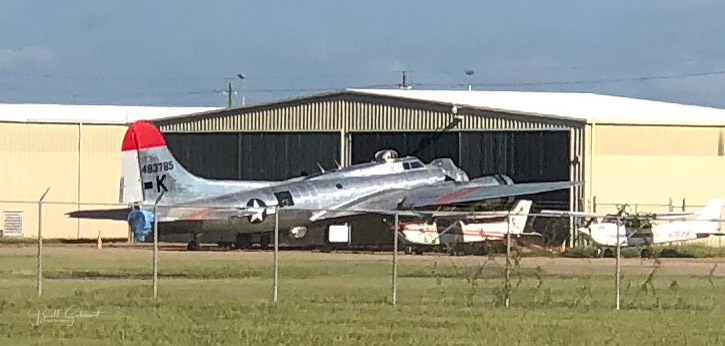 Former B-17 air tanker spotted in Mississippi - Fire Aviation