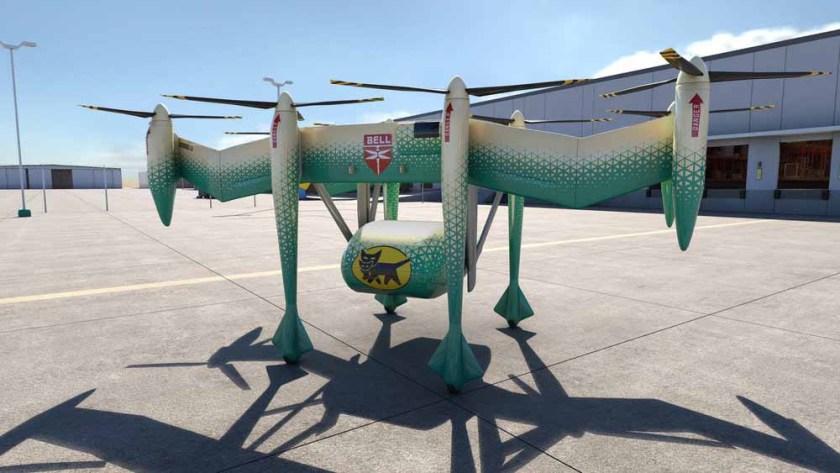 Bell Helicopters Autonomous Pod Transport