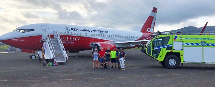 air tanker 137 737 fire australia
