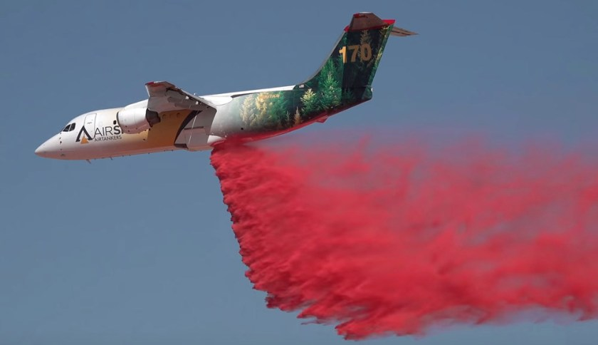 Air Tanker 170 making test drop