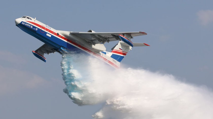 Be-200ES air tanker
