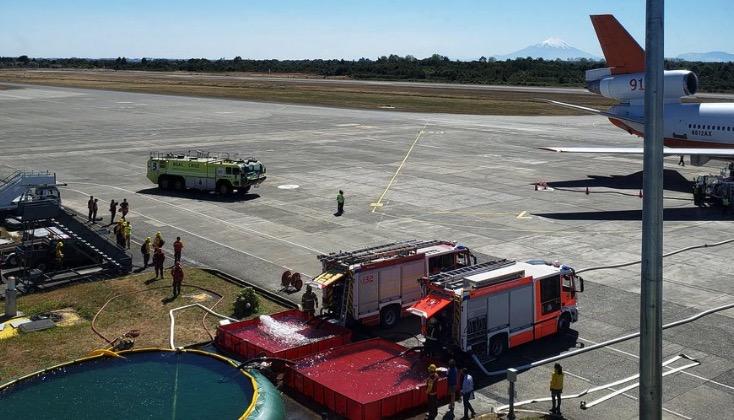 air tanker reload base at
