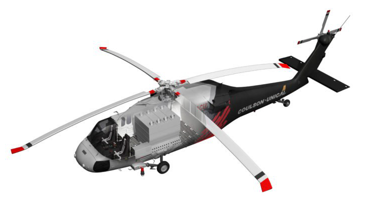 Coulson-Unical CU-60 helicopter UH-60