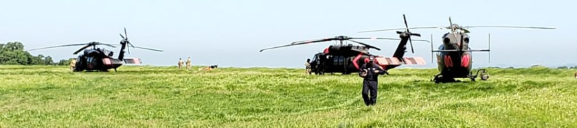 CAL FIRE's Military Helicopter Managers training