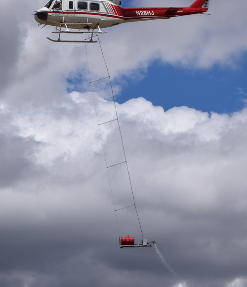 Colorado Division of Fire Prevention and Control Cañon Helitack aerial ignition