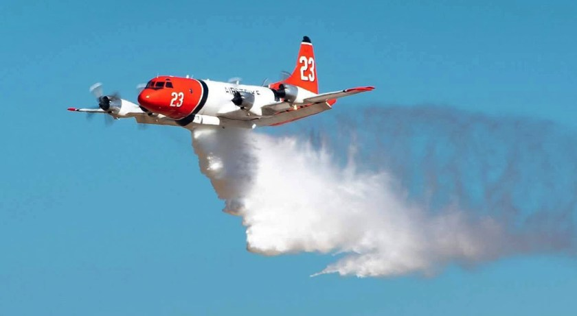 Air Tanker 23, a P3 Orion