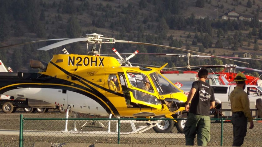 AS350B3 at John Day, Oregon