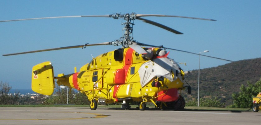 Ka-32 helicopter Portugal