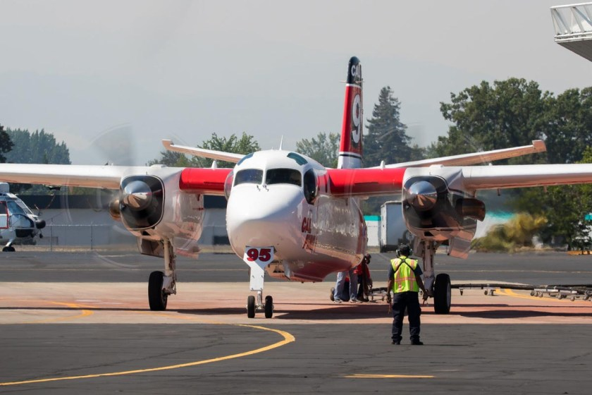 Tanker 95 at Medford, Oregon