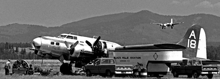 Coeur d'Alene Idaho air tankers 1973