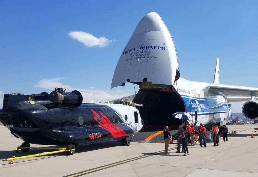 Coulson CH47D Antonov AN 124 Bolivia