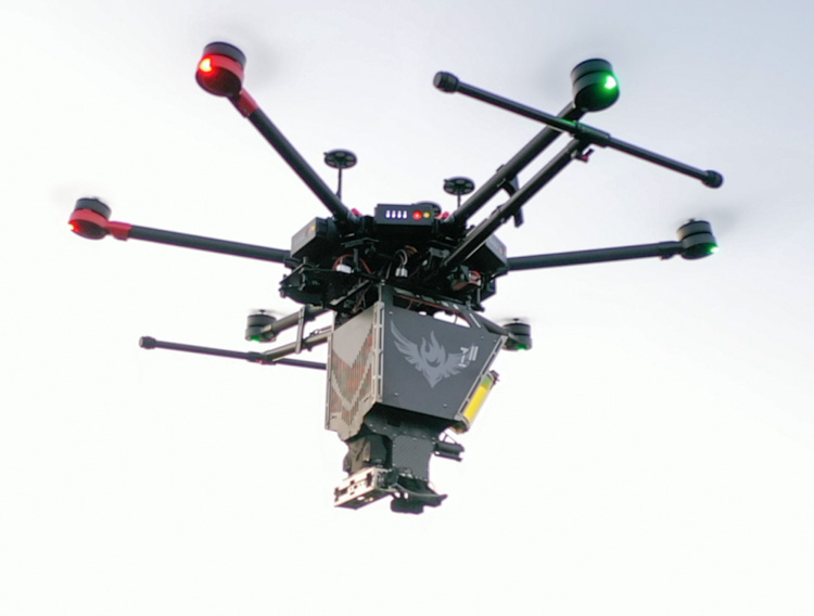 Ignis 2 drone aerial ignition