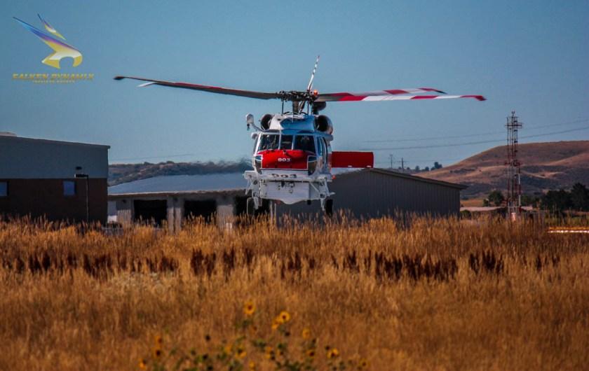 CAL FIRE Firehawk helicopter 903