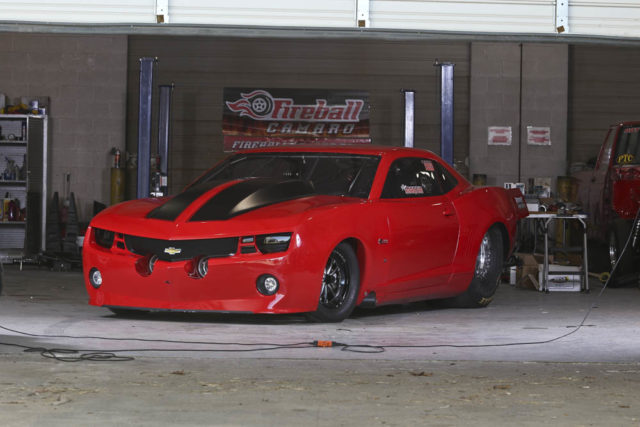 Fireball Camaro RACECAR - Dragzine article