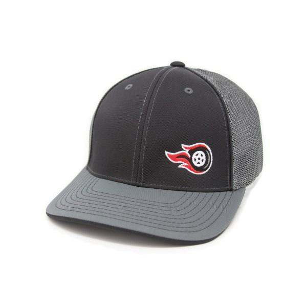 Fireball Camaro Black & Grey Trucker Hat