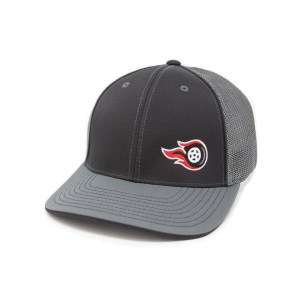 Fireball Camaro Black & Grey Trucker Hat