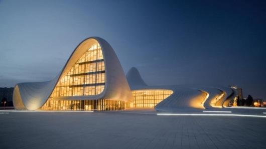 Heydar-Aliyev-Centre-by-Zaha-Hadid-Fireball-Tim-1
