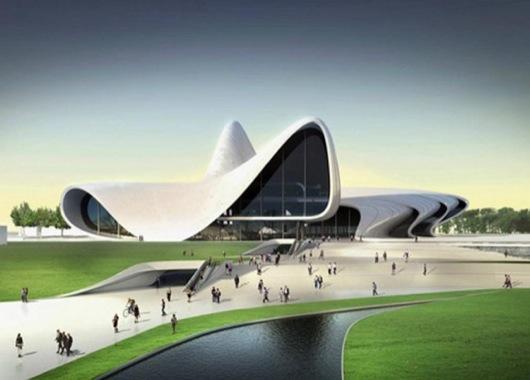 Heydar-Aliyev-Centre-by-Zaha-Hadid-Fireball-Tim-3
