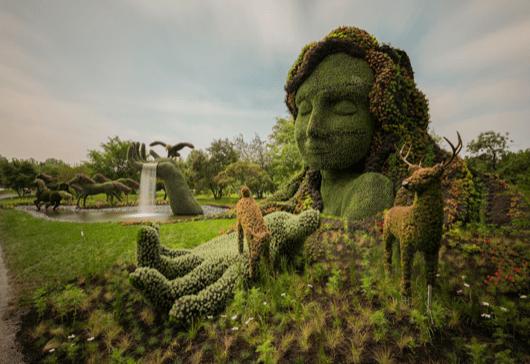 massive-hordicultural-sculptures-in-montreal-Fireball_Tim