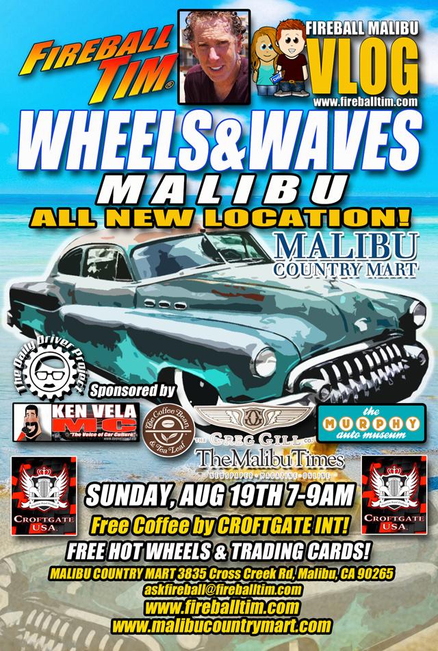 bfd0ab04c1f3 Fireball Malibu Vlog » WHEELS AND WAVES MALIBU heads to a NEW ...