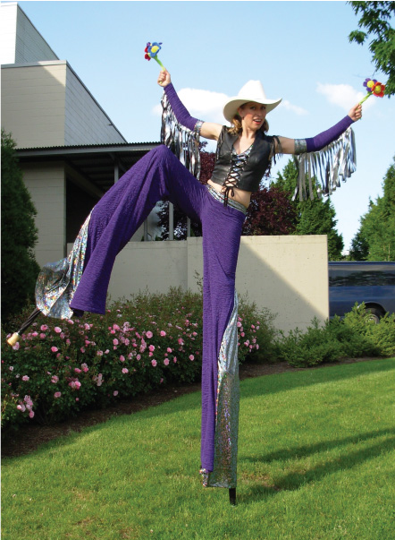 Purple Cowgirl