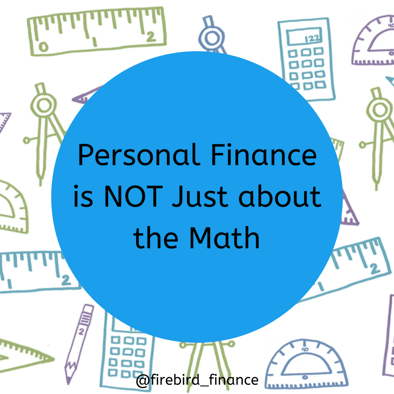 Personal Finance is NOT Just about the Math